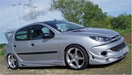 206XARMUP5P Peugeot 206 RC Tuning