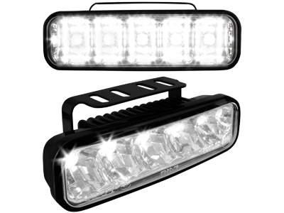 Kit de Luz diurna universal de 5 LEDs 147x59x56 mm