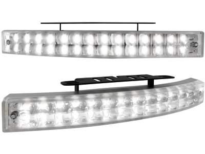 Kit de Luz diurna universal de 28 LEDs 200x24x42mm