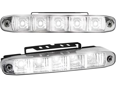 Kit de Luz diurna universal de 5 LEDs 160x24x54 mm