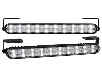 Kit de Luz diurna universal de 20 LEDs 220x24x35mm