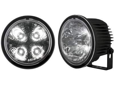 Kit de Luz diurna universal de 4 LEDs de alta intensidad Ø90 / 71mm