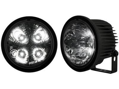 Kit de Luz diurna universal de 4 LEDs de alta intensidad Ø90 / 71mm negras