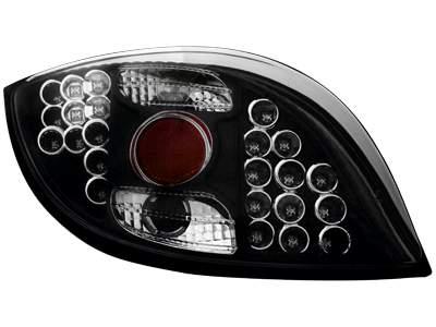 Faros traseros de LEDs para Ford KA 96-08 negros