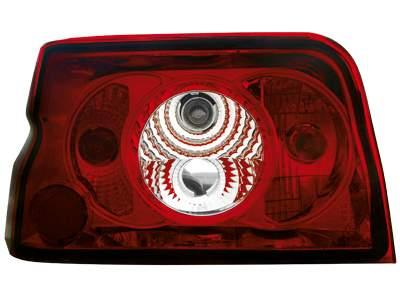 Faros traseros para Ford Escort MK5 90-93 rojos/claros