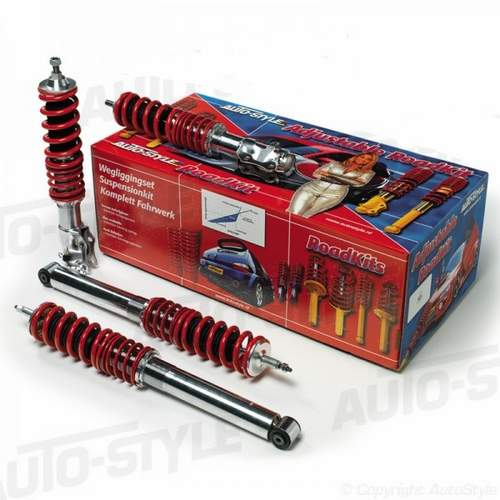 Juego de suspension roscada regulable para Audi A2 2/00-8/05 50mm
