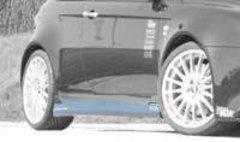 Faldones laterales taloneras para Alfa Romeo 147 GTA kit Cadamur