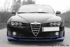 Añadido parachoques delantero Alfa Romeo 159 kit Cadamuro