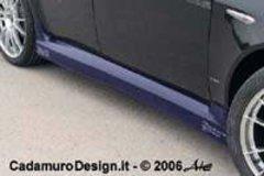 Faldones laterales taloneras Alfa Romeo 159 kit Cadamuro