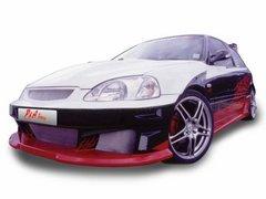 Abultamineto de capo en fibra para para Honda Civic Kit P&A Tuni