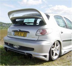 Parachoques trasero Peugeot 206 kit Warm Up PAM Tuning