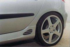 Faldones laterales taloneras Sport Look 5 puertas Peugeot 206 Ab
