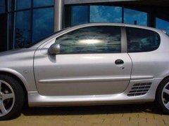 Faldones laterales taloneras Sport Look 3 puertas Peugeot 206 Ab