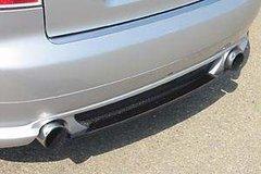 Añadido parachoques trasero + difusor en Carbono para Audi A4 8E