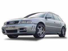 Faldones laterales taloneras para Audi A4 S4 kit P&A tuning
