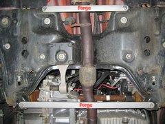 Refuerzos de subchasis en acero inxoidable Forge para Fiat Grand Punto T Jet