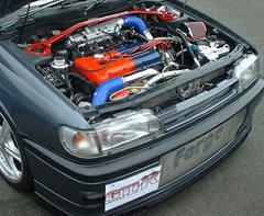 Kit intercooler frontal deportivo Forge para Nissan GTI-R