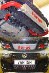 Kit intercooler frontal deportivo Forge para 2.0 TFSI MK5 para Volkswagen Golf 5 2.0 Gasolina Tu