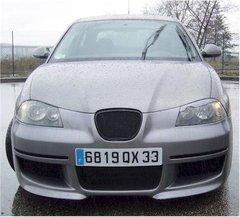 Calandra negra Sport sin sigla para Seat Ibiza kit RS 2002 by MT
