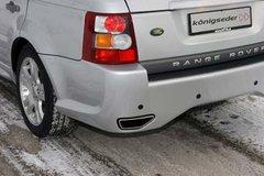 Colas de escape Land Rover Range Sport kit konigseder