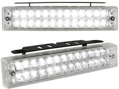Kit de Luz diurna universal de 58 LEDs 140x30x40mm
