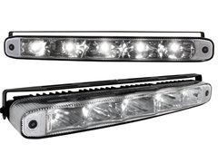 Kit de Luz diurna universal de 5 LEDs de alta intensidad 220x26x48mm