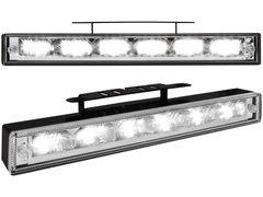 Kit de Luz diurna universal de 6 LEDs de alta intensidad 200x29x28 mm