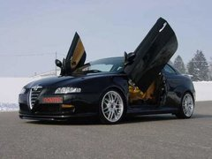 Kit puertas verticales  LSD Doors para Alfa Romeo GT
