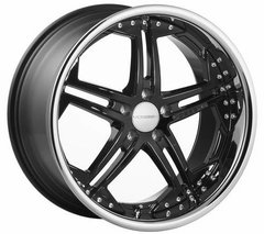 Kit 4 llantas Vossen Wheels vvs075 negro brillante 9 x 20