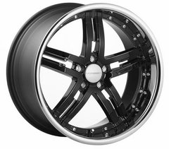 Kit 4 llantas Vossen Wheels vvs077 negro brillante en 11 x 20