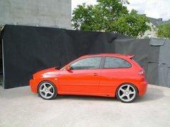 Faldones laterales taloneras Seat Ibiza kit Abbes design