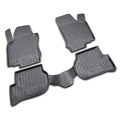 Alfombrillas 3D VW Touran 7 Plz 2006-