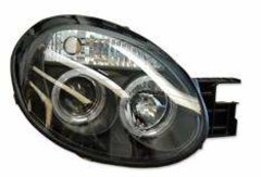 Faros delanteros Angel Eyes negros Chrysler Neon 00-