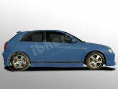 Taloneras faldones laterales Audi A3 kit Rider Ibherdesign