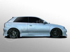 Taloneras faldones laterales Audi A3 kit Sirus Ibherdesign