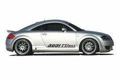 Adhesivos laterales para Audi TT RSX color plata