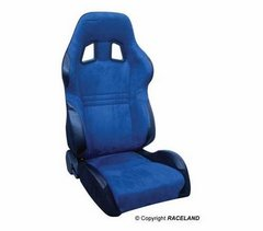 Asiento deportivo Baquets reclinable RaceLand S- GTB Azul