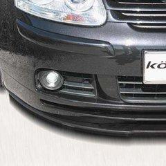 Añadido delantero parachoques en Carbono VW Golf V kit Konigsede