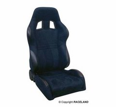 Asiento deportivo Baquets reclinable RaceLand S- GTB Negro