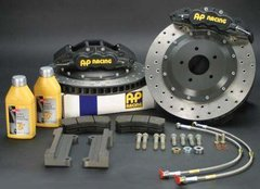 Kit de frenos AP Racing  de 4 pistones para VW Golf IV GTI
