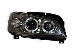 Faros Angel eyes Peugeot 106 color negro