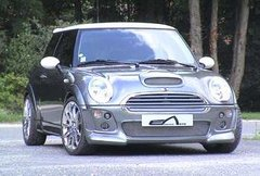 Paragolpes delantero completo Mini Cooper kit Forum Esquiss