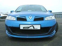Parachoques delantero + calandra Renault Megane II kit Toxic Esq