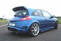 Aleron techo para Renault Megane II kit Toxic Equiss Auto