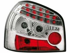 Faros traseros de LEDs para Audi A3 8L 09.96-04 claros