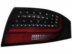Faros traseros de LEDs para Audi TT (8N3 / 8N9) 98-05 negros