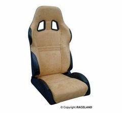 Asiento deportivo Baquets reclinable RaceLand S- GTB Amarillo