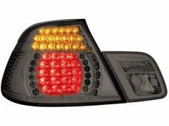 Faros traseros de LEDs para BMW E46 Cabrio 00-07 ahumados 4piezas
