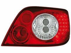 Faros traseros de LEDs para Citroen Xsara 97-00 rojos/claros
