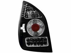 Faros traseros de LEDs para Citroen C2 02-05 negros